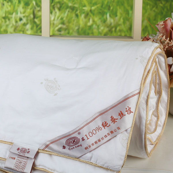 All-cotton mulberry silk quilt (lable fabrics)
